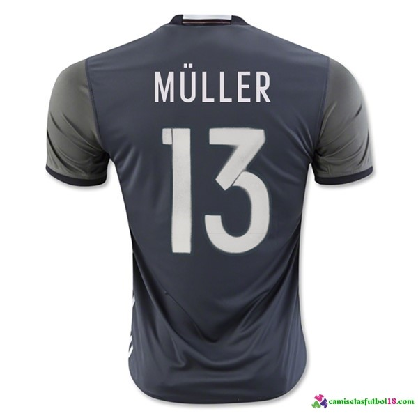 Muller Camiseta 2ª Kit Alemania 2016